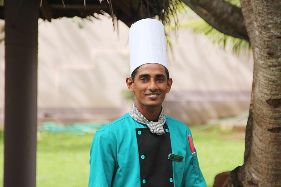 Kingdom Ayurveda Resort - Cucina Ayurvedica - Chef Nilanthe